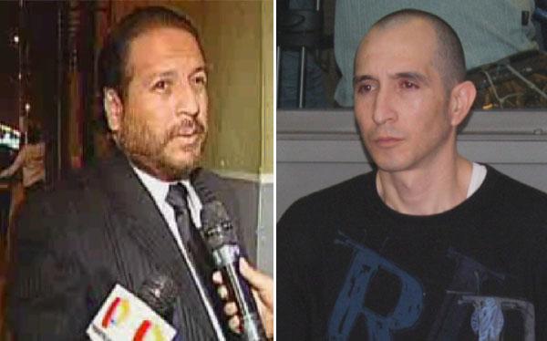 Ex abogado de Eva Bracamonte negó haber visitado a sicario colombiano