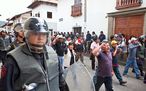 Cajamarca: reinicio de protestas tuvo escasa convocatoria