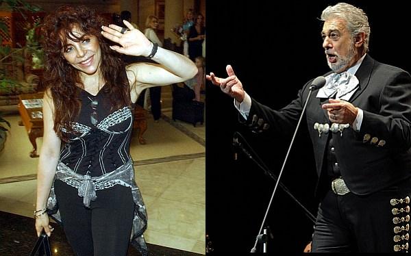 Plácido Domingo y Verónica Castro llegarán al Perú la próxima semana