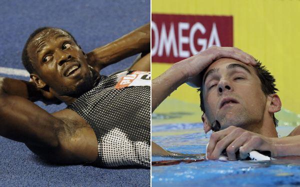 Bolt y Phelps no entrarán en las camas de la Villa Olímpica de Londres 2012