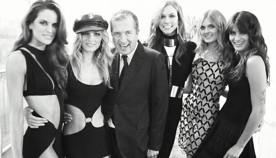 FOTOS: los 'ángeles de Victoria's Secret' que derrocharon belleza en la fiesta de Mario Testino