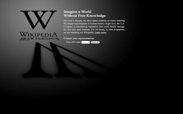 Wikipedia no teme volver a cerrar temporalmente para defender Internet