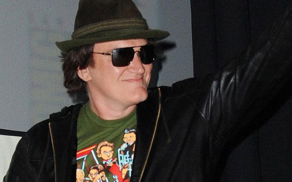 """Tarantino presumió de su sangriento """"Django"""" en la Comic-Con"""