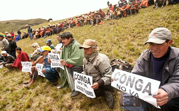 El 60% cree que el proyecto Conga se concretará pese a protestas antimineras