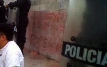 Disturbios en Plaza San Martín dejaron cinco manifestantes detenidos - Noticias de lorena davila