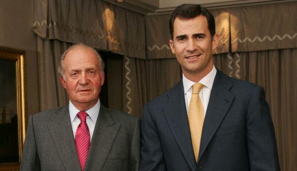El Rey y el príncipe de España recortan su sueldo en 7,1%