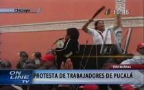 Chiclayo: trabajadores de Agro Pucalá se enfrentaron con machetes a la Policía - Noticias de tenorio torres