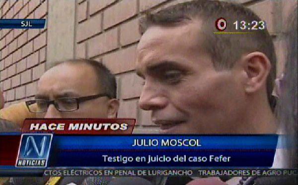 """Julio Moscol: """"Ahora que soy Eros Ramazotti la prensa me busca"""""""