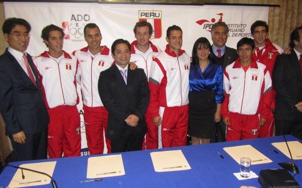 Atletas peruanos lucirán la Marca Perú en los Juegos Olímpicos de Londres