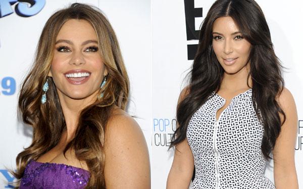 Sofía Vergara le ganó a Kim Kardashian como la actriz mejor pagada de la TV de EE.UU.