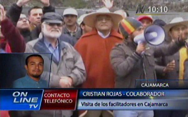 Cajamarca: Facilitadores se reúnen con población del área de influencia de Conga