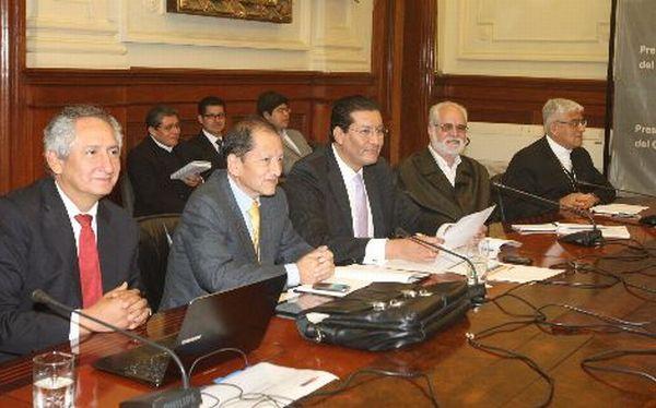 Facilitadores del diálogo se reunieron con el Ejecutivo por proyecto Conga