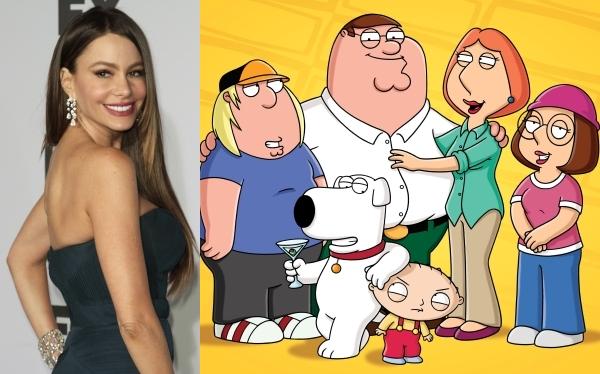 """Sofía Vergara tendrá un personaje en la serie """"Family Guy"""""""