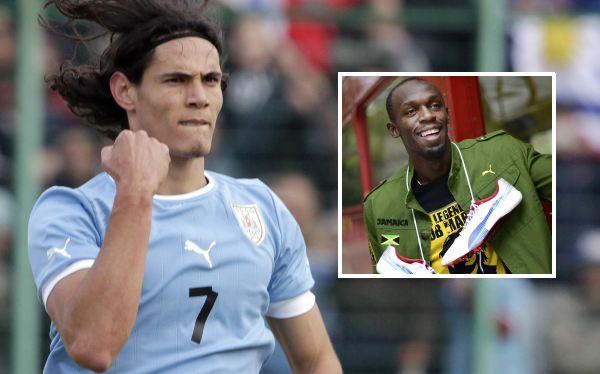 Edinson Cavani y el sueño de tomarse una foto con Usain Bolt en Londres 2012