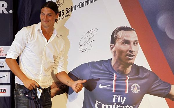 Zlatan Ibrahimovic quiere la camiseta numero 10 del París Saint Germain