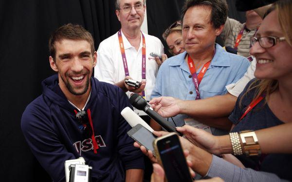 """Phelps llegó a Londres 2012: """"Todavía hay cosas que quiero hacer y por eso estoy aquí"""""""
