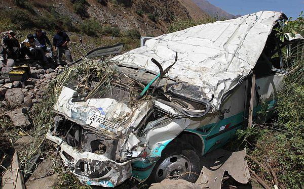 Dos accidentes en La Libertad deja cuatro personas muertas