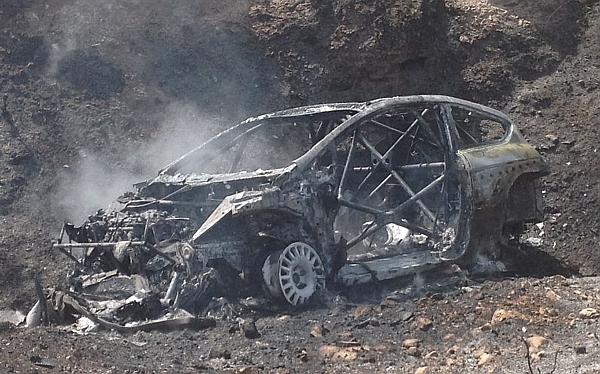 Ramón Ferreyros se salvó de morir tras accidente durante rally en España
