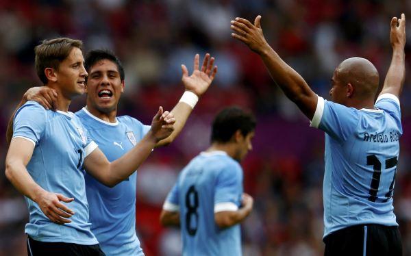 Londres 2012: Uruguay venció 2-1 a Emiratos Árabes en su debut
