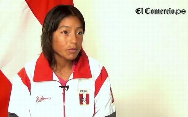 """Inés Melchor: """"El objetivo es hacer quedar bien al Perú"""""""
