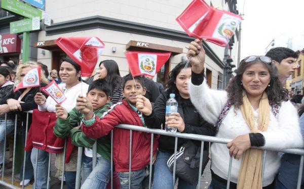 El 51% de peruanos se siente orgulloso del país