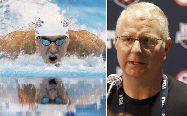 Entrenador de Phelps quedó asombrado por la derrota del 'Tiburón de Baltimore'