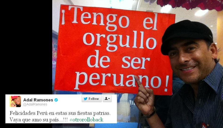 FOTOS: figuras internacionales también saludaron al Perú por su día