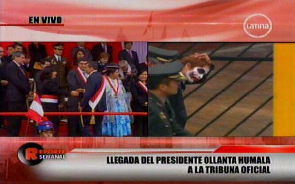 Sujeto disfrazado del 'Guasón' fue detenido en Gran Parada Militar