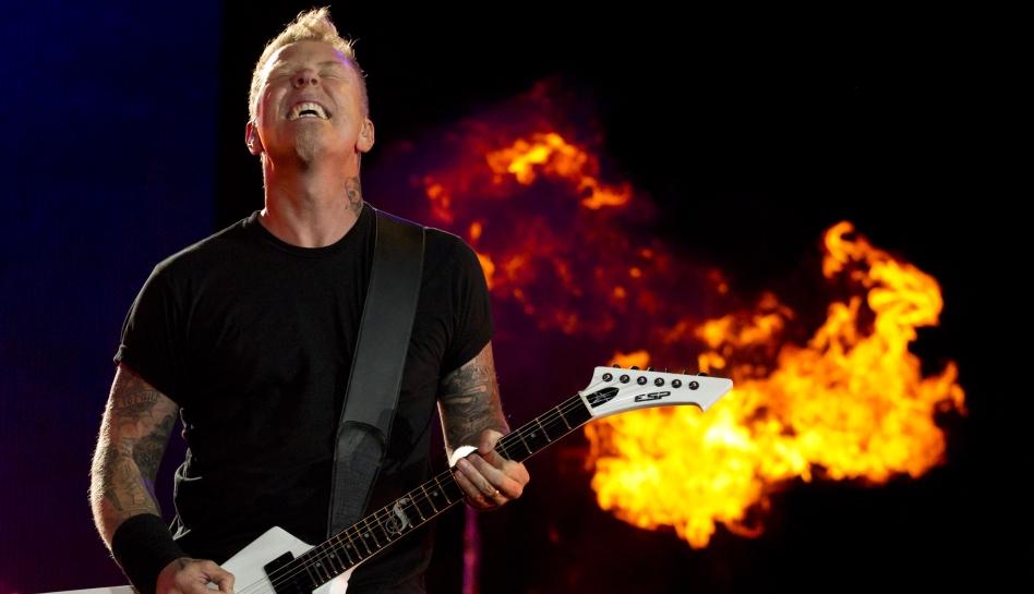 FOTOS: el explosivo concierto de Metallica en México