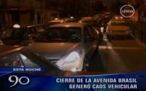 Cierre de la Av. Brasil por Parada Militar causó gran congestión vehicular - Noticias de desfile militar