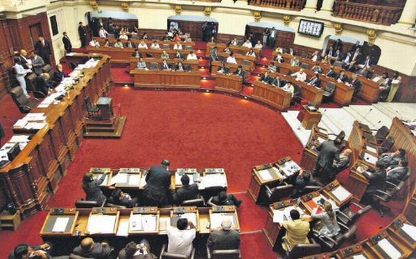 Cinco bancadas critican que el Gobierno dicte decretos sobre seguridad y crimen