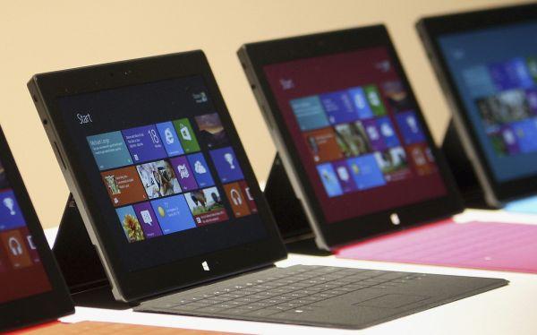 Microsoft rebajó en 150 dólares su Surface RT