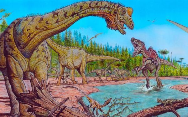 Extinción de los dinosaurios fue repentina y no gradual