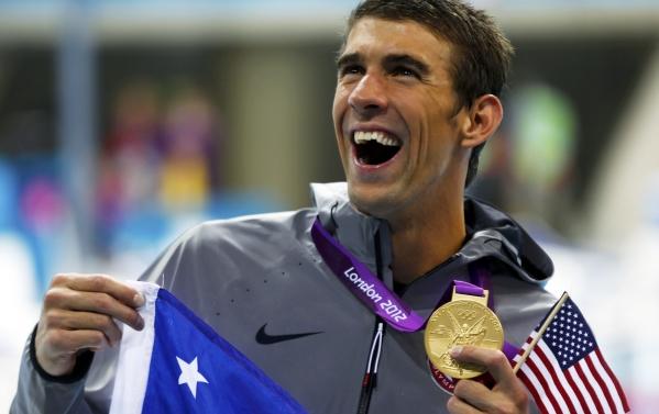 Michael Phelps ganó su primera medalla de oro en Londres y es el más condecorado de la historia