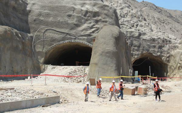 Obras en el túnel Rímac–San Juan de Lurigancho están avanzadas en un 72%