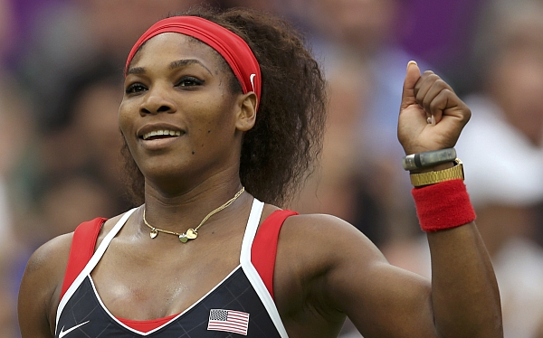 Serena Williams aplastó a Zvonareva y pasó a cuartos de final en Londres