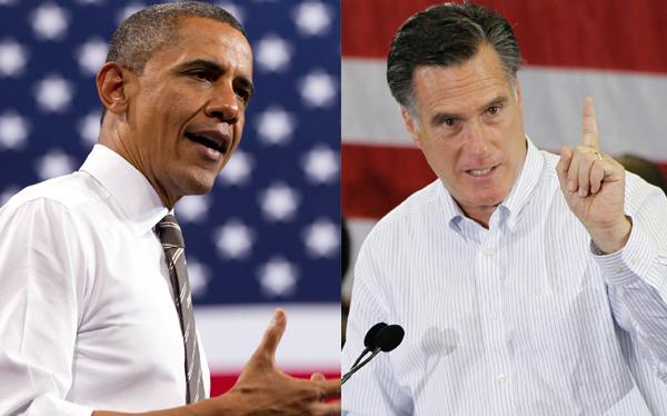 Barack Obama aventaja a Mitt Romney en tres estados claves