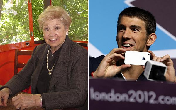 """Ex gimnasta que perdió récord olímpico a manos de Phelps le deseó una """"vida normal"""""""