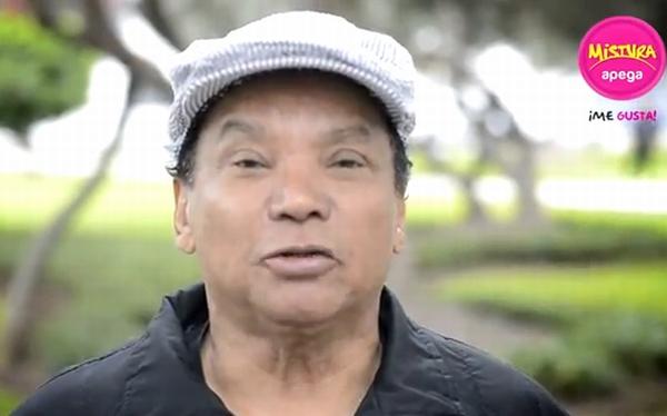 Melcochita se unió a la campaña para promocionar Mistura 2012