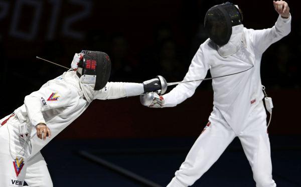 Londres 2012: Venezuela gana su primer oro en esgrima en los Juegos Olímpicos
