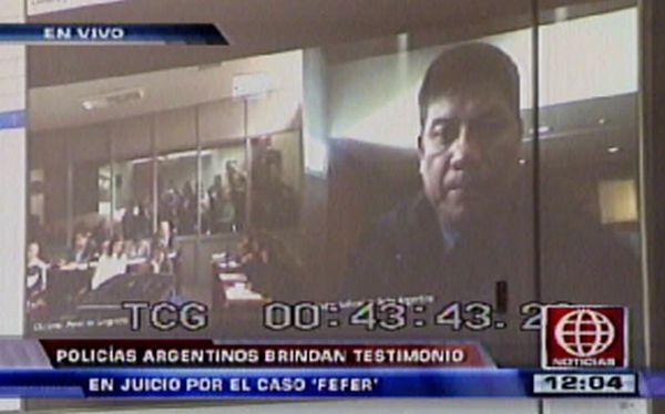 Caso Fefer: policía argentino complicaría situación de Eva Bracamonte