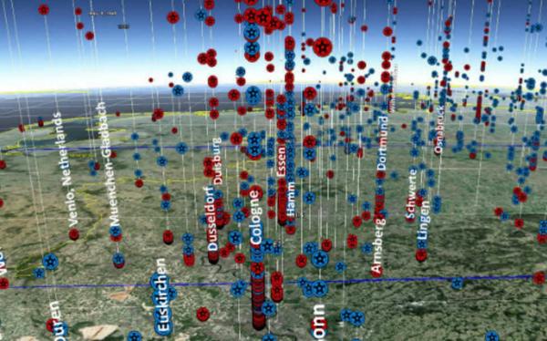 Mapa develará todas las bombas arrojadas por los Estados Unidos en 100 años