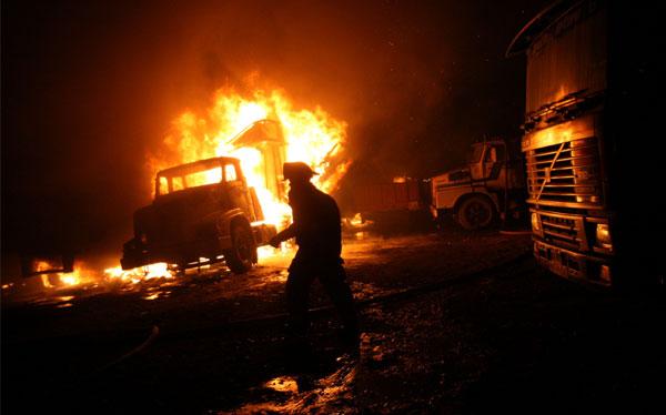 Padre e hijo salvaron de morir en incendio en Santa Anita