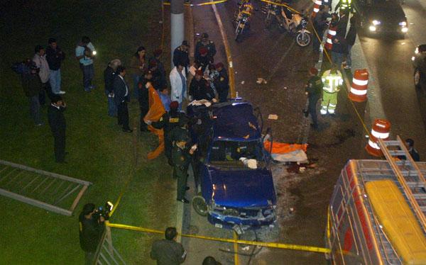Accidente en el Trébol de Javier Prado dejó dos muertos y seis heridos