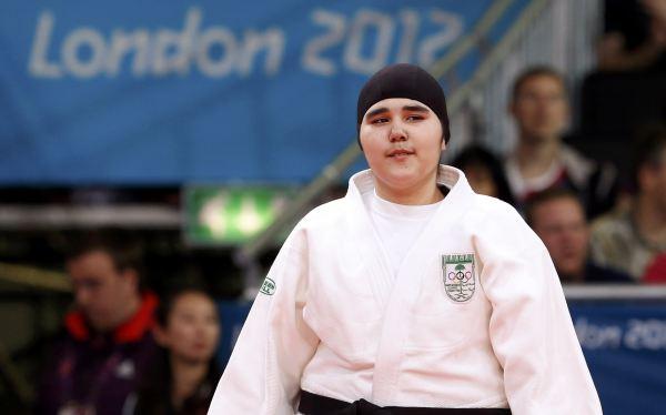 """Primera saudí en unos Juegos Olímpicos: """"Estaba muy asustada"""""""