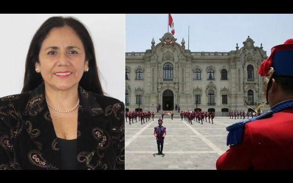 María Elena Juscamaita es la nueva secretaria general de la Presidencia de la República