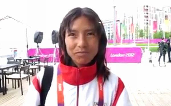 Inés Melchor se recuperó y está lista para la maratón en Londres 2012