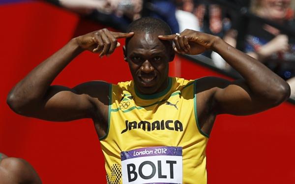 """Usain Bolt sobre su debut en Londres 2012: """"Estoy corriendo bien, soy feliz"""""""