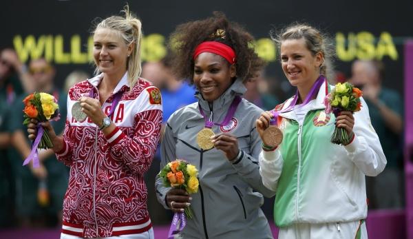 Serena Williams se quedó con el oro olímpico tras vencer a Maria Sharapova