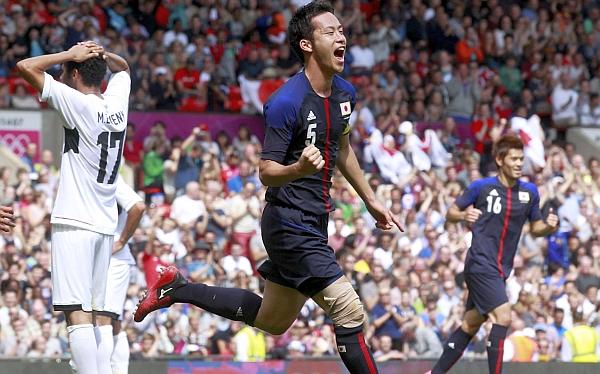 Japón goleó 3-0 a Egipto y es primer semifinalista en Londres 2012